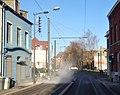 Travaux de la branche vers Vieux-Condé de la ligne B du tramway de Valenciennes en décembre 2013 (237).JPG