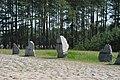 Treblinka. Kamienie z nazwami krajów, z których pochodzili zamordowani.jpg