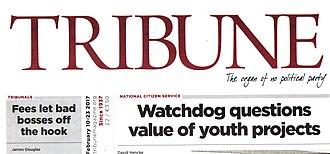 Tribune (magazine) - Image: Trib 2017cover