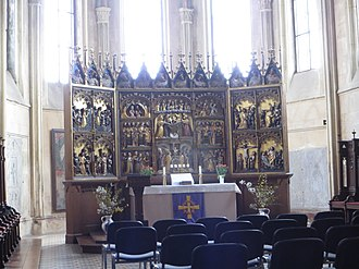 Tribsees - Image: Tribsees church interior 016