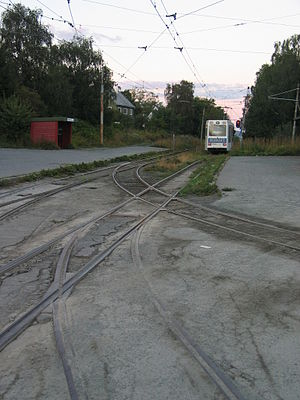 Graakalbanen - Modern view of Munkvoll