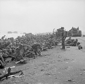 IWM caption : D-DAY - BRITISH FORCES DURING TH...