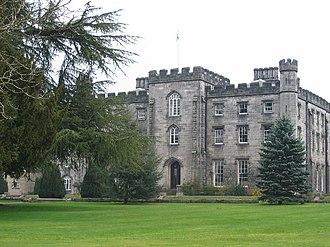 Tulliallan - The modern Tulliallan Castle, now a police college