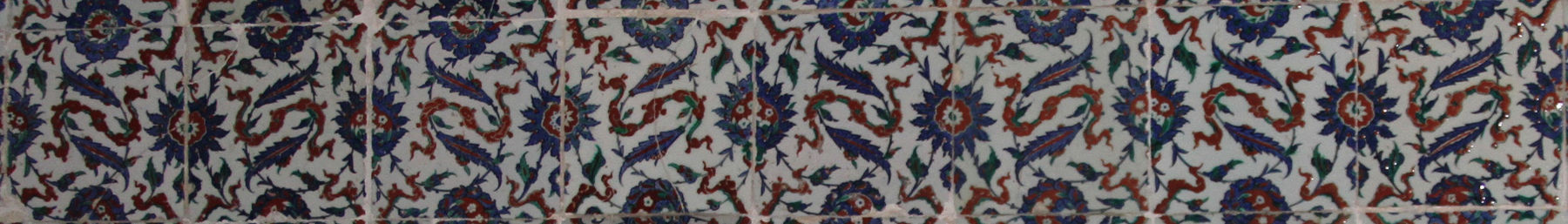 Tiles from the Topkapı Palace in Istanbul