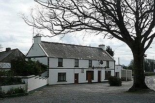 Turloughmore Town in Connacht, Ireland