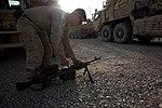 Turret gunners of Combat Logistics Battalion 7 keep convoy safe 140714-M-JD595-0180.jpg