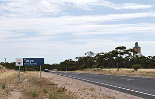Tutye, Victoria Town in Victoria, Australia