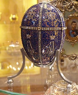 Twelve Monograms (Fabergé egg) 1896 Imperial Fabergé egg
