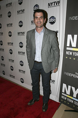 Ty Burrell at the New York Television Festival...