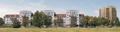 Tychy - al. Bielska - nowoczesne budownictwo.png