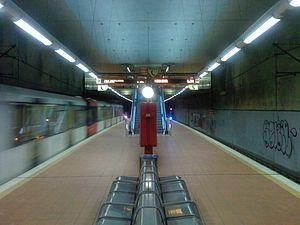 Akazienweg (KVB) - Akazienweg station