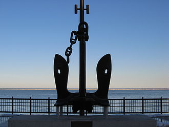 Navy Pier - USS Chicago (CA-136/CG-11) anchor