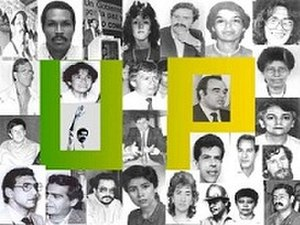 Human rights in Colombia - Image: UP Political Genocide