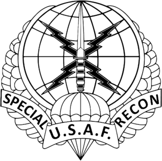 United States Air Force Special Reconnaissance US Air Force career specialty