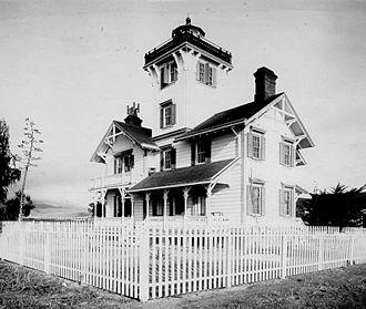 Point Fermin Light - U.S. Coast Guard Archive