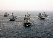 USN Amphibious assault ships