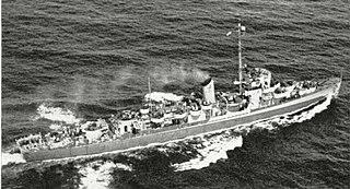USS <i>Amick</i> Cannon-class destroyer escort