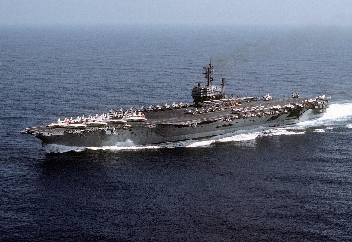 USS John F Kennedy CV 67 – Wikipe