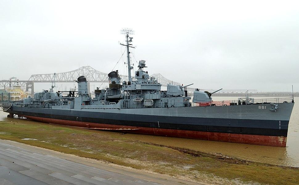 USS Kidd (DD-661), January 2013
