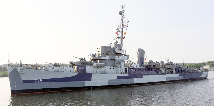 USS SLATER 2014