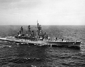 USS Topeka (CL-67) - USS Topeka (CLG-8) after conversion to guided missile cruiser