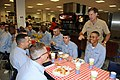 US Navy 080710-N-8848T-019 Vice Adm. Mark E. Ferguson III, Chief of Naval Personnel and Deputy Chief of Naval Operations for Manpower, Personnel, Training and Education, speaks with recruits.jpg