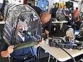 US Navy 100707-N-0569K-006 Sailors fit their gas masks aboard USS Enterprise.jpg