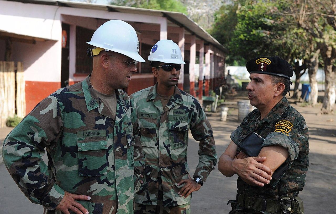 File:US Navy 110124-N-7589W-140 Sailors speak with Guatemalan army ...