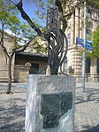 US Navy memorial to those who died in 1977 (Port of Barcelona) 01.JPG