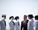 US ambassador to France visits USS Harry S. Truman 130806-N-RA063-001.jpg