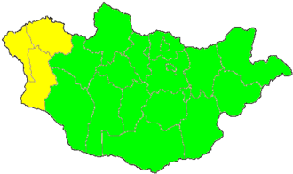 Time in Mongolia - Image: UTC hue 4map MON