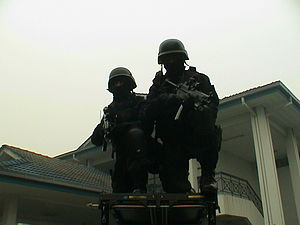 Eastern Sabah Security Zone - PGK operators are stationed at forward operating bases in Mabul Island, Semporna and Banggi Island, Kudat.