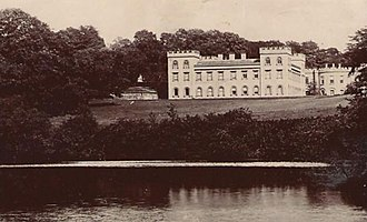 Archie Christie - Ugbrooke House at about the time that the ball was held