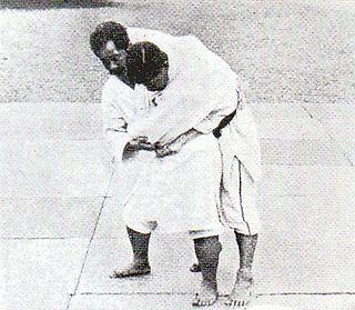 Uki goshi Judo technique