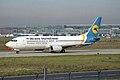 Ukraine International Airlines - UIA Boeing 737-4Y0 UR-GAM (33233149893).jpg