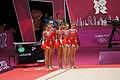 Ukraine Rhythmic gymnastics at the 2012 Summer Olympics (7915650212).jpg
