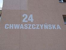 Ulica Chwaszczyńska 24, Gdynia - 001.JPG