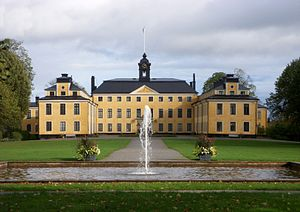 Ulriksdal Palace - Ulriksdal Palace was one of the first Swedish buildings with mansard roofing.
