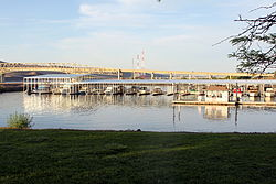 Umatilla Marina, Umatilla Bridge, and McNary Dam
