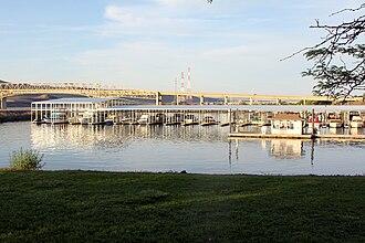 Umatilla, Oregon - Umatilla Marina, Umatilla Bridge, and McNary Dam