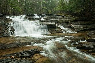 Umpachene River - Umpachene Falls on the Umpachene  River (May 2014)