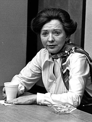 United States Secretary of Education Shirley Hufstedler at Miami-Dade Community College 1980-02-07 (cropped).jpg