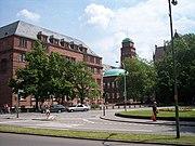 Kollegiengebäude I und historisches Hauptgebäude der Albert-Ludwigs-Universität