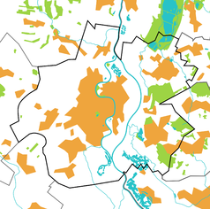 Mapa lokalizacyjna Raciborza