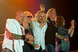 Uriah Heep in 2011, created in Würzburg Germany on 08. May 2011.