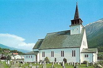 Uskedal - Image: Uskedalen kyrkje