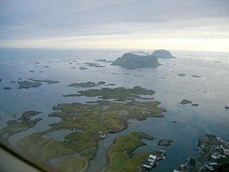 Norwegian Sea - Værøy and Røst islands, Lofoten, Norway
