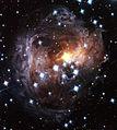 V838 Monocerotis light echo (HST, November 2005).jpg