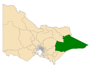 Electoral district of Gippsland East