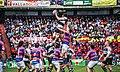 VRAC Quesos Entrepinares y El Salvador en la final de Copa de Rugby 2016.jpg